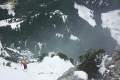 Kurz unterm Gipfel
