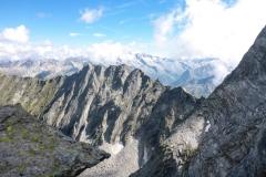 Geile Aussicht, noch bessere Kletterei