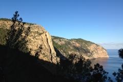 """Wir entscheiden uns für """"Stairway to heaven"""" an der Cala Aubarca in der Nähe von San Mateo"""