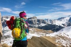 Auch ohne Gipfel: ein guter Tag mit Sonne und wenigstens ein bisserl Kletterei