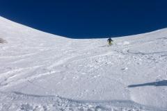 Derzeit gute Schneeverhältnisse