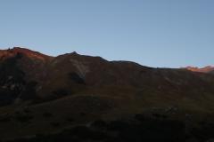 Sonnenaufgang im Schüsselkar
