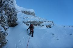 Ausstieg ist Schnee
