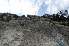 Bester Fels und top Absicherung im Klettergarten Grand Charmasson