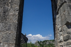 Mittelalterliche Aussicht