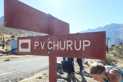 Startpunkt Pitec (Permit für Huascarán Nationalpark notwendig)