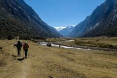 Quebrada Quilcayhuanca - der Weg ist das Ziel