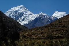 Nevado Chinchey (6183 m) - nicht unser Ziel; aber ein beeindruckender Blickfang