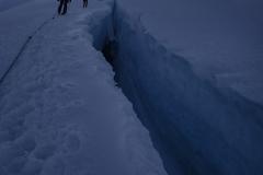 Seiten- und Tiefblicke am Nevado Pisco