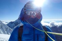 Gipfelglück am Nevado Pisco (5752 m). Erfrischend!