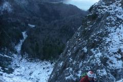 Bolts sind wahrscheinlich nur bei dieser geringen Schnee und Eislage zu sehen. Jedenfalls sind sie mir noch nie aufgefallen