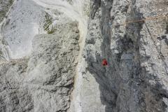 Die ersten 8 Längen sind einfach megafein zu klettern!