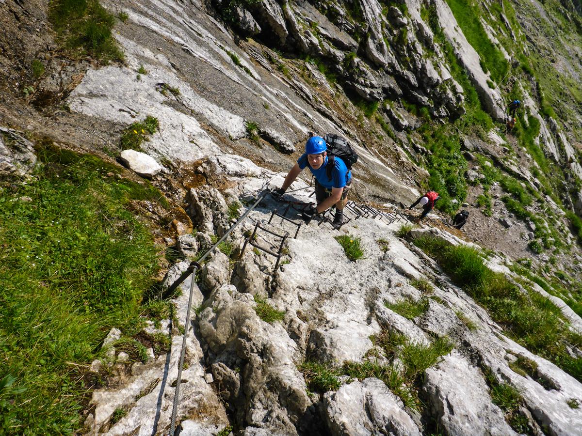 Klettersteig Zugspitze Höllental : 09. 07. 2018 zugspitze via höllental
