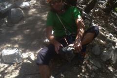 Mal sehen wie das hier so ist: erste Gehversuche im Yosemite Valley...