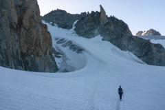Tags darauf dann via Col Superior du Tour auf die Aiguille du Tour. Das Col du Tour ist momentan wegen der niedrigen Schneelage eher ungünstig