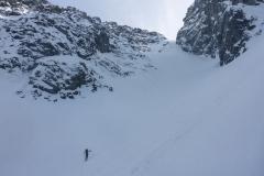 Der Weg ist immer klar. Bei uns waren die Schneeverhältnisse...na ja...ich nenns mal würzig:)