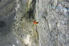 schon recht nette Kletterei und mit 1800hm ausm Tal durchaus eine (halb)Tagesfüllende Aktion