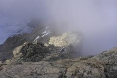 So gegen halb 8 kam Nebel auf und es schaute kurz mal so aus als würde es doch ordentlich Quellen...hat sich aber alles schnell verzogen