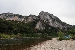 Ardèche am Camp des Gorges