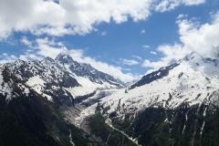 Die Berge rund um Argentiére
