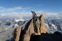 Tiefblicke vom Monte Disgrazia.