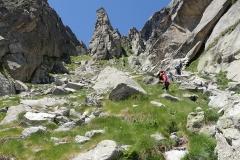 Aufstieg zum Passo Val Torrone.
