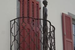 Balkon in Vicosoprano