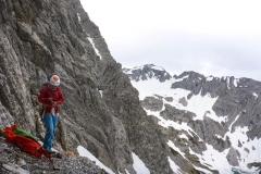 Übers Prinz Luitpolt Haus zu den Einstiegen an der Fuchskarspitze Westwand