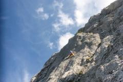Die steile 7er Länge...