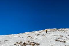 ...nach echt kalten Zustieg, es hatte -13 beim losgehen, ab dem Brunnsteinanger Sonne satt!