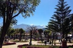 Huaraz, plaza de armas