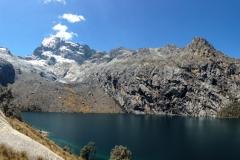 Laguna Churup (4450 m) - Ausgangspunkt Pitec (~720 Hm, 4.5 km)