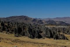 Grandioses Finale: Klettern in Hatun Manchay (4200 m, 2h mit Taxi von Huaraz)